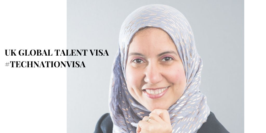 Exceptionally Talented Woman in Cybersecurity | Noha Amin | #TechNationVisa