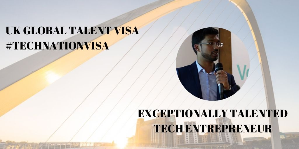 Global Talent Visa | Entrepreneur in Newcastle | Amila Prabandhika