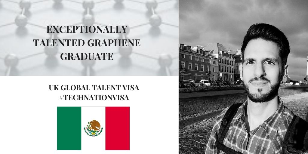 UK Global Talent Visa | Graphene Graduate, Daniel Melendrez
