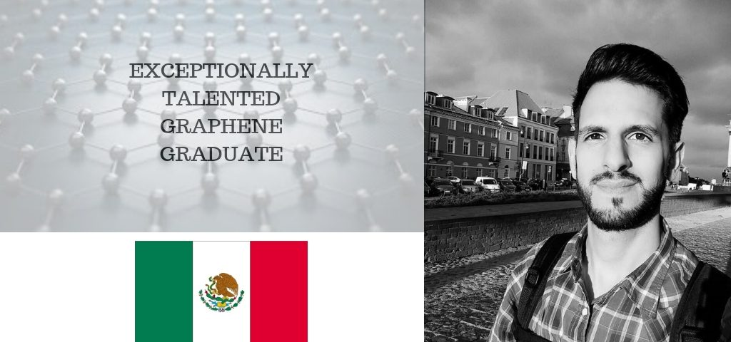 Exceptionally Talented Graphene Graduate, Daniel Melendrez
