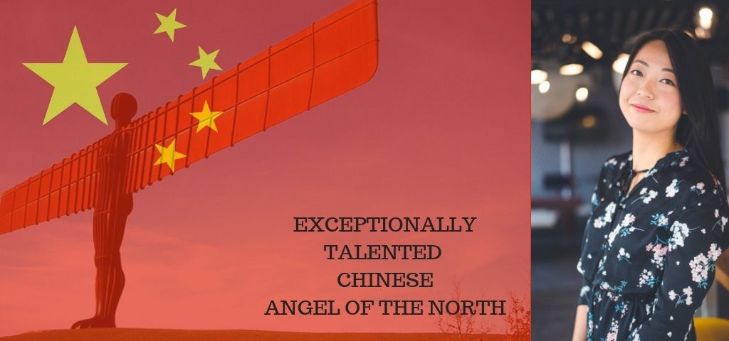 Exceptionally Talented Chinese Angel of the North, WeiTing Huang