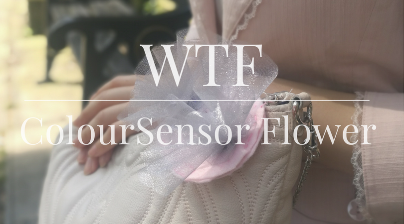 WTF | Colour Sensor Flower Accessory
