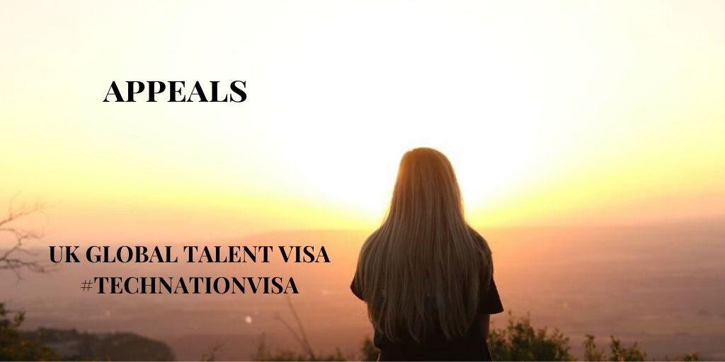 Were You Unsuccessful in Your Global Talent Visa #TechNation Visa Endorsement?