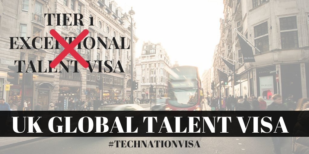 Changes to the Tier 1 Exceptional Talent Visa | Global Talent Visa #TechNationVisa
