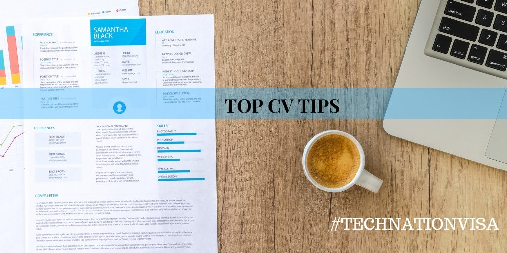 Top CV Tips for the UK Global Talent Visa